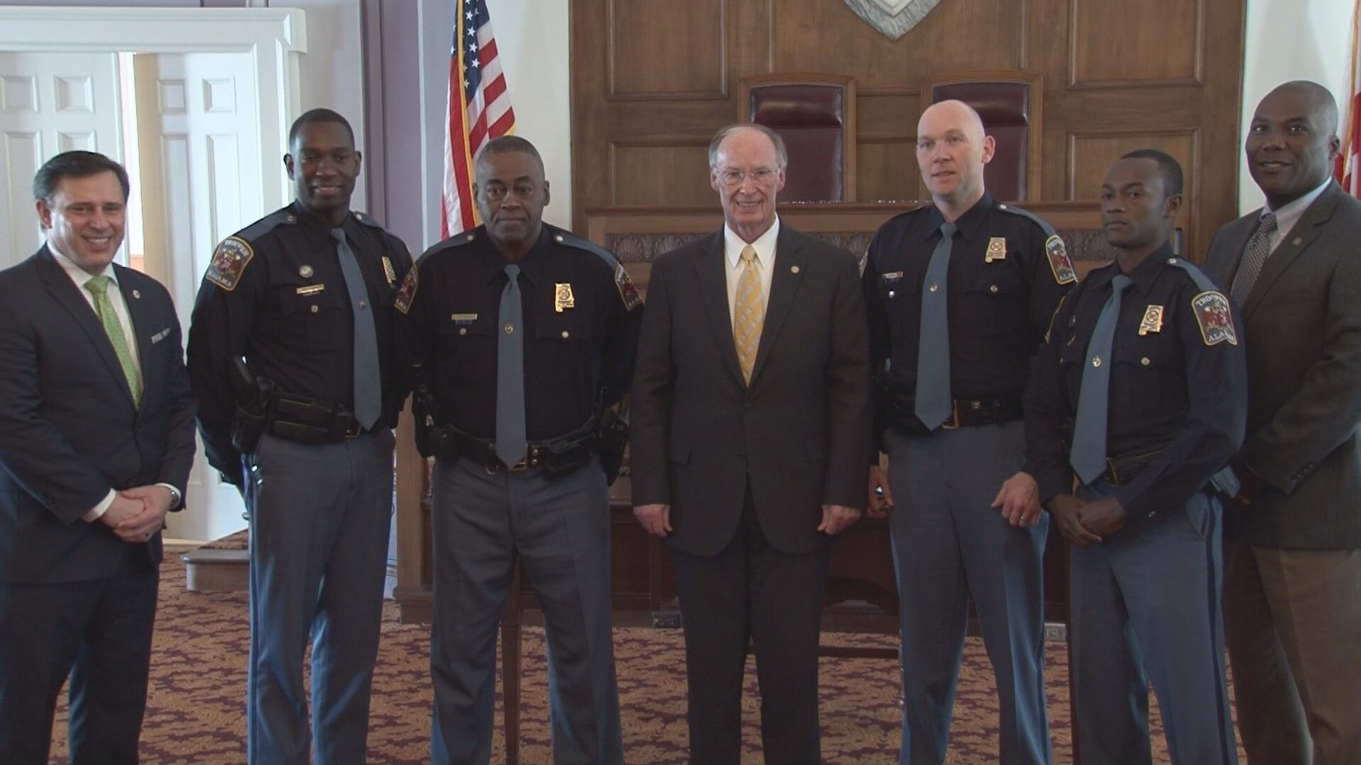 AL Troopers Honored