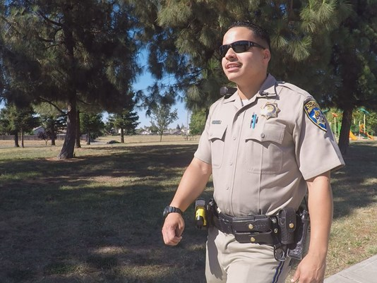 CHP Officer From Homeless to officer