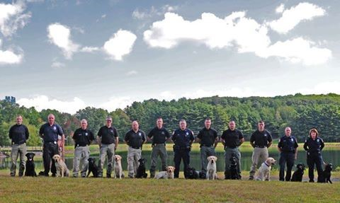 Connecticut K 9 graduation