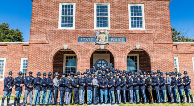 Delaware State Police graduation March 2020