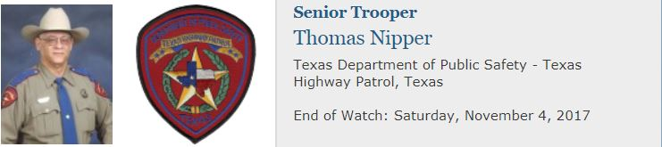 End of Watch Texas Trooper