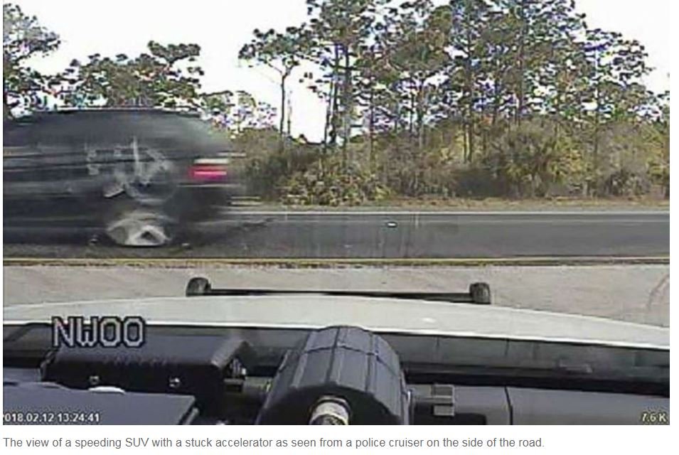 FHP Saves speeding car