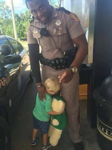 FHP Trooper and little boy
