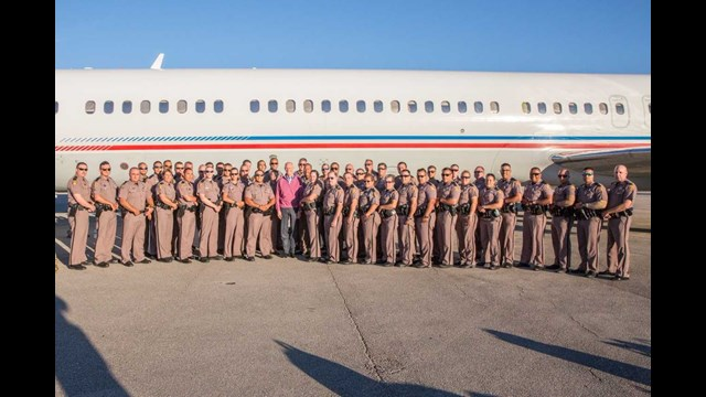 FHP officers return from Puerto Rico