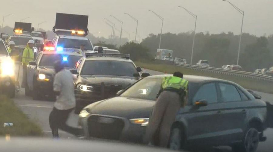 FHP trooper struck by car