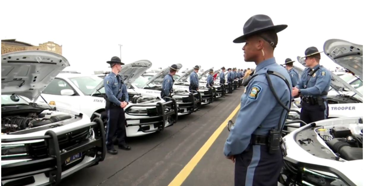 KHP new troopers get cars