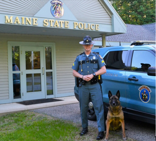 Maine SP 2018 Trooper of the Year
