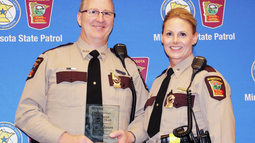 Minnesota trooper of the year