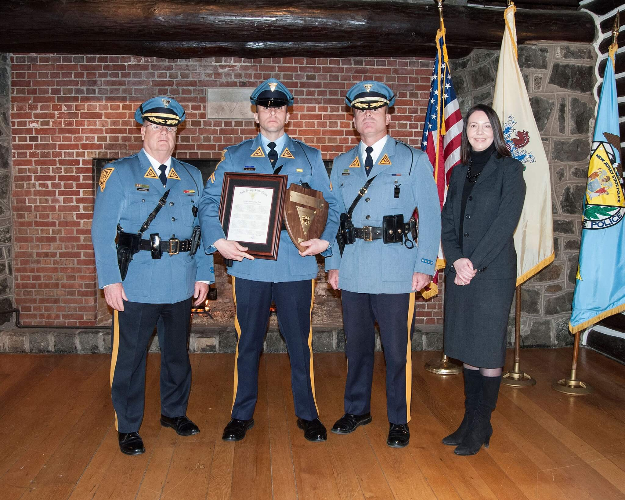NJSP 2016 Trooper of the Year