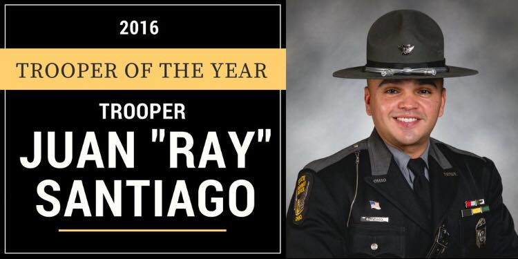Ohio State Patrol trooper of the year