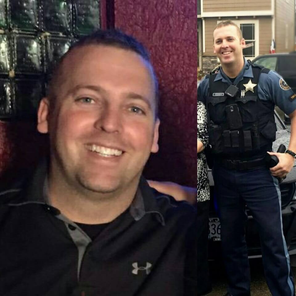 Oregon injured trooper