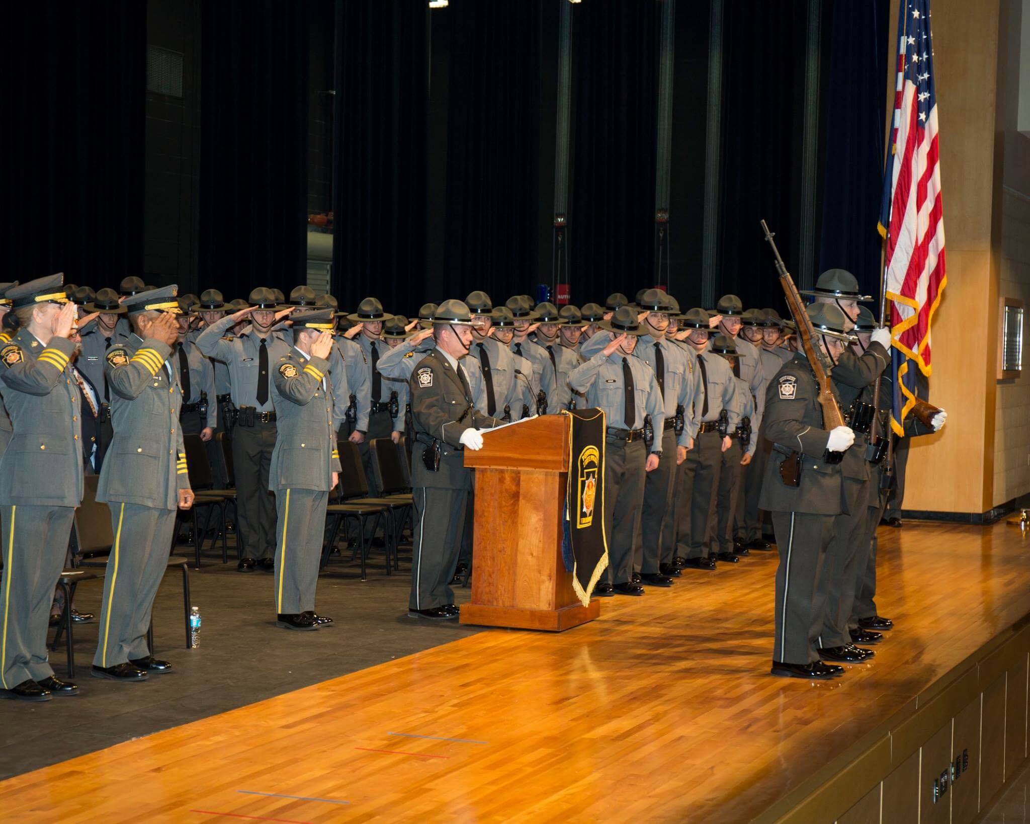 PA state police graduation December 2016