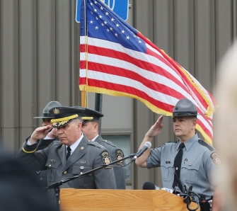 PSP remembers fallen state troopers
