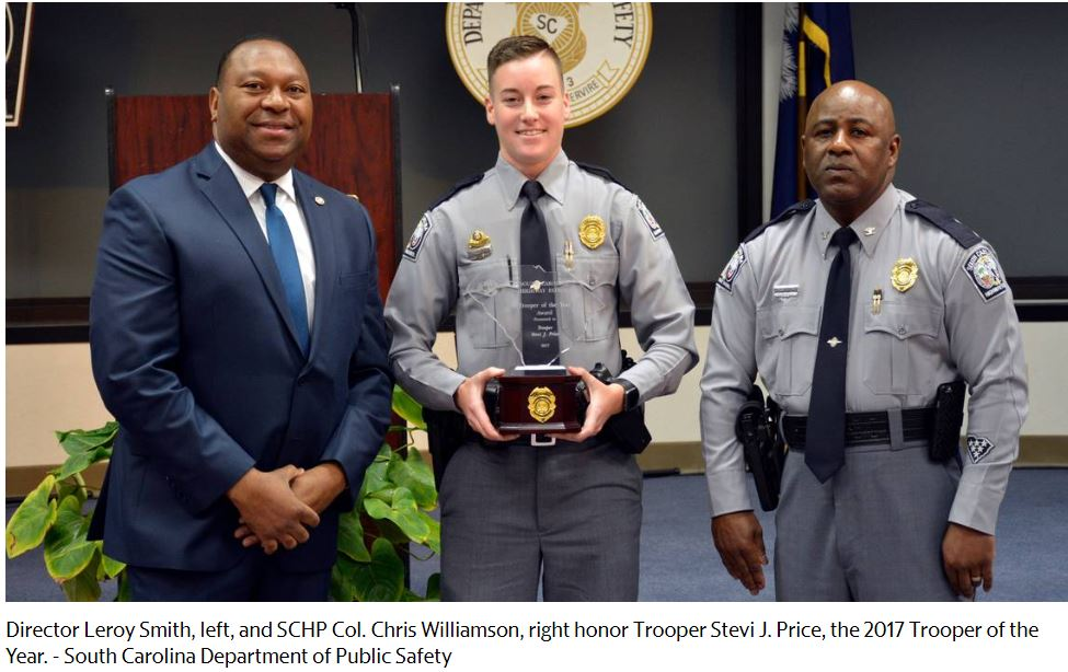 SCDHP 2017 Trooper of the Year