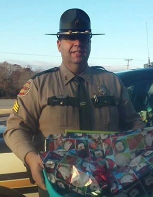 TN Trooper with presents