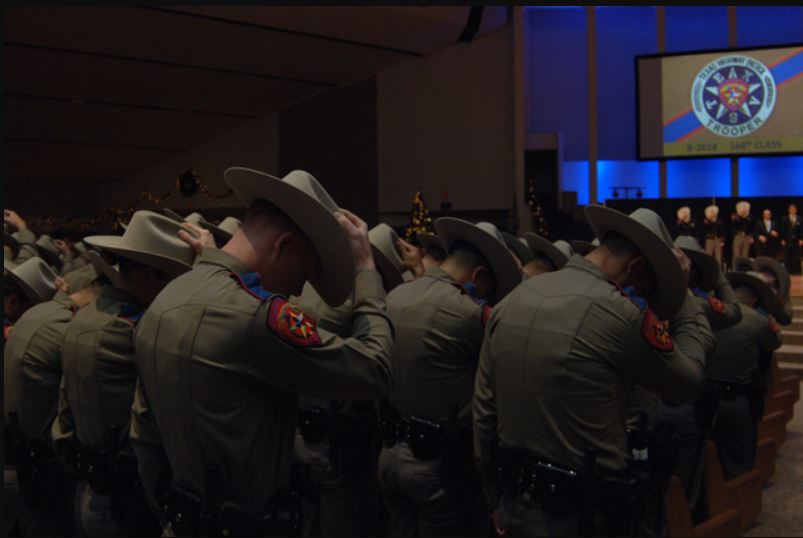 Texas DPS December 2018 graduation