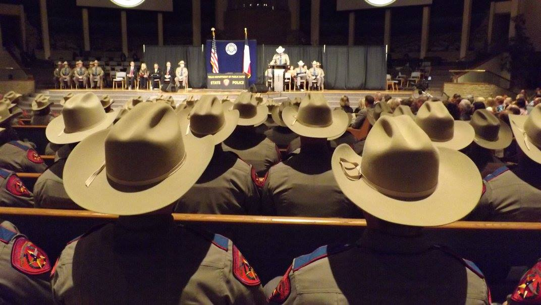 Texas DPS Graduation