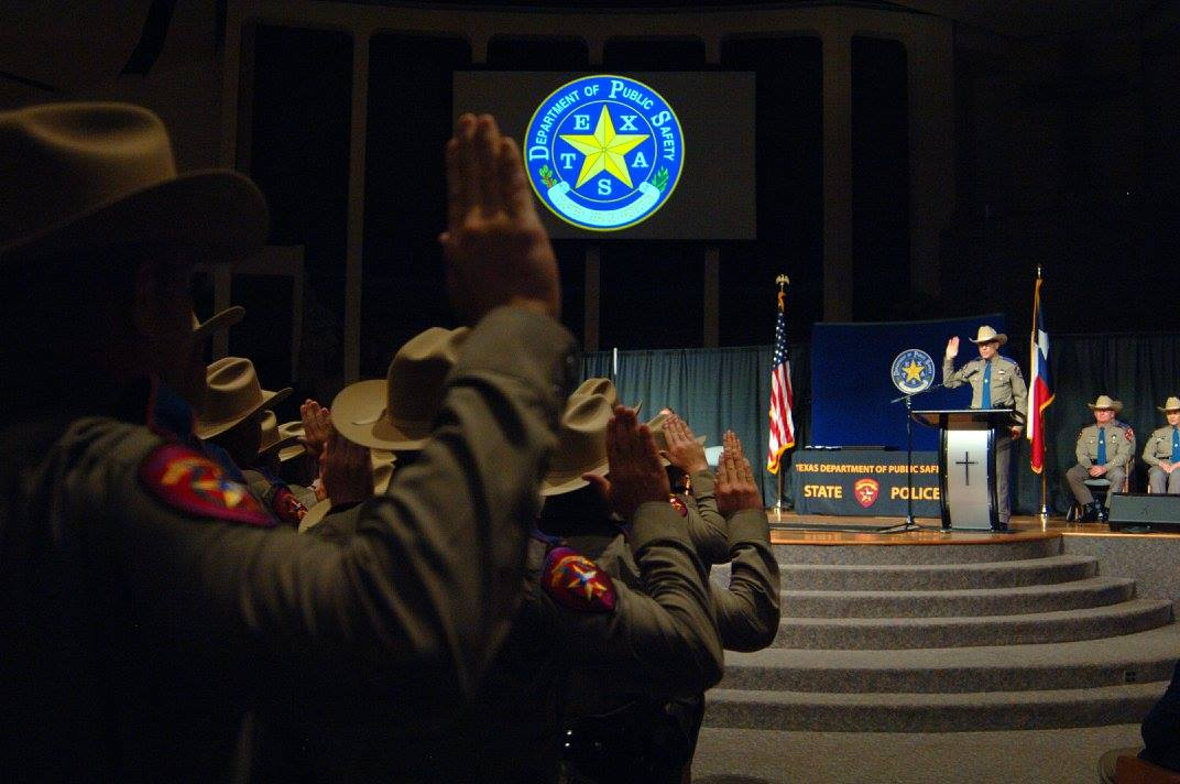Texas DPS graduation August 5 2017