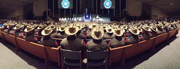 Texas DPS graduation February 2017