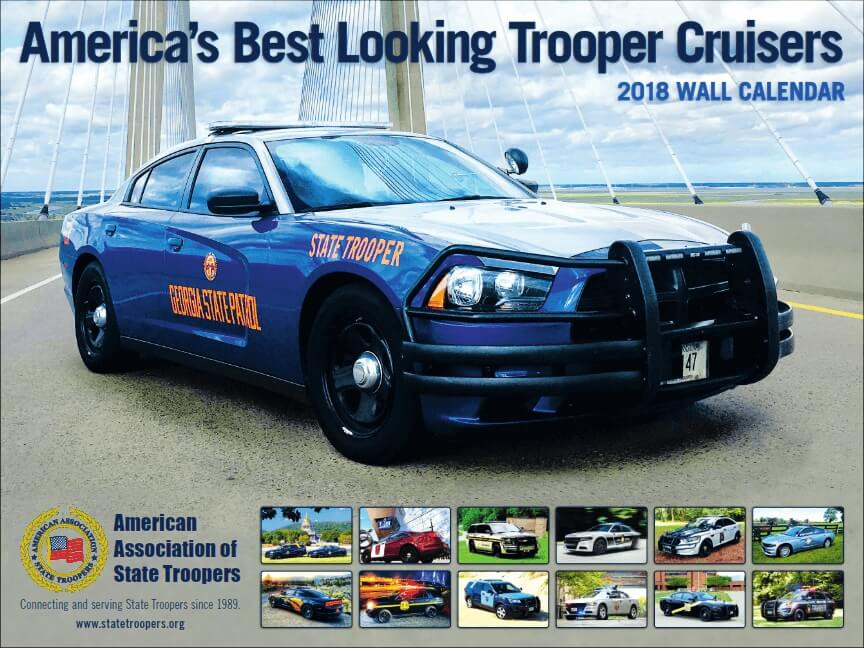 2018 Trooper Cruisers Wall Calendar