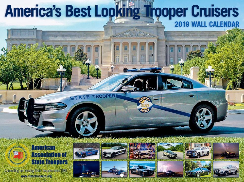 2019 Trooper Cruisers Wall Calendar