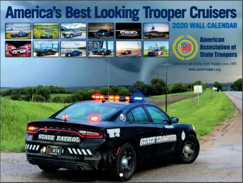 2020 Trooper Cruisers Wall Calendar
